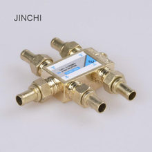 JINCHI 1 Dalam 4 Out penggunaan Ganda 4 Way Pelabuhan Sinyal TV Satelit Coaxial Sat Diplexer Combiner Splitter Kabel beralih Switcher(China)