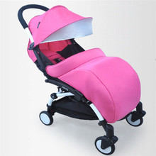 Pram Cosy Stroller Cover Footmuff Fits Buggy Pushchair Leg Warmer Padded(China)