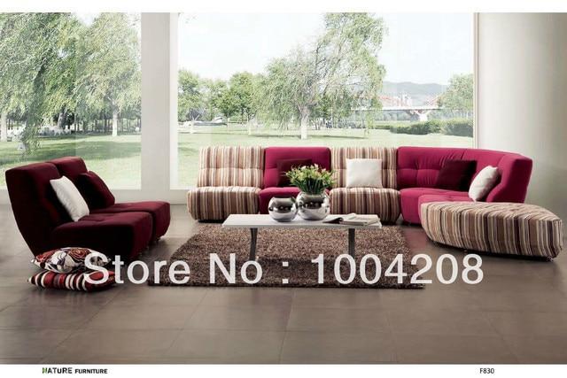 style moderne canap dangle canap en tissu mobilier de salon f830 - Salon Moderne Entissu