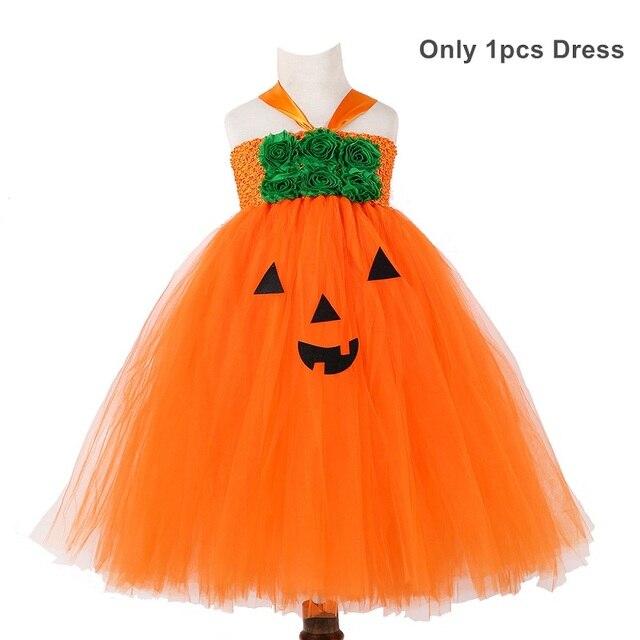 Autumn Pumpkin Tutu Dress...