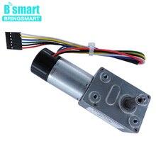Bringsmart JGY 370GB a Vite Senza Fine Dc Motoriduttore 12V Sala Encoder Encoder Motore di Copertura Antipolvere Auto Lock Reversibile Riduttore Del Motore