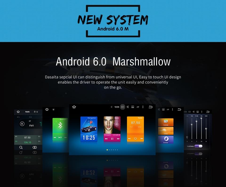 Dasaita 8″ Android 6 0 Octa Core Car GPS for Mitsubishi Outlander