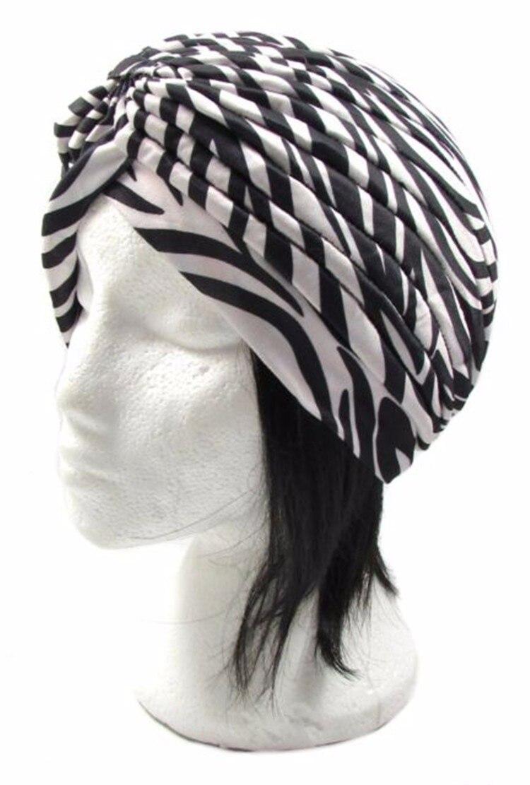 ZEBRA HEADBAND HEADWRAP BANDANA ELASTIC HEADWEAR STRETCH HAIR ACCESSORY WIG HAT