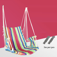 F 2019 Patio Furnitures Hammock Chair Kids Furniture Hanging Swing Chairs with Rope Sponge Baby Interior Cradle Outdoor Sports