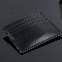 Genuine Leather Brand Men M B Credit Bank Card Holder