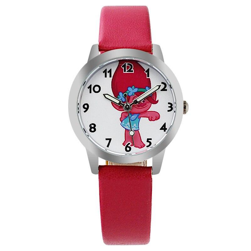 2019 Brand Kids Watch Cute Boys Girls Quartz Watch Kids Leather Student Time Clock Wristwatch Gifts Relojes