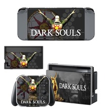 Dark Souls Decal Nintendo Switch NS Console + Joy-Con Controller + Dock Station