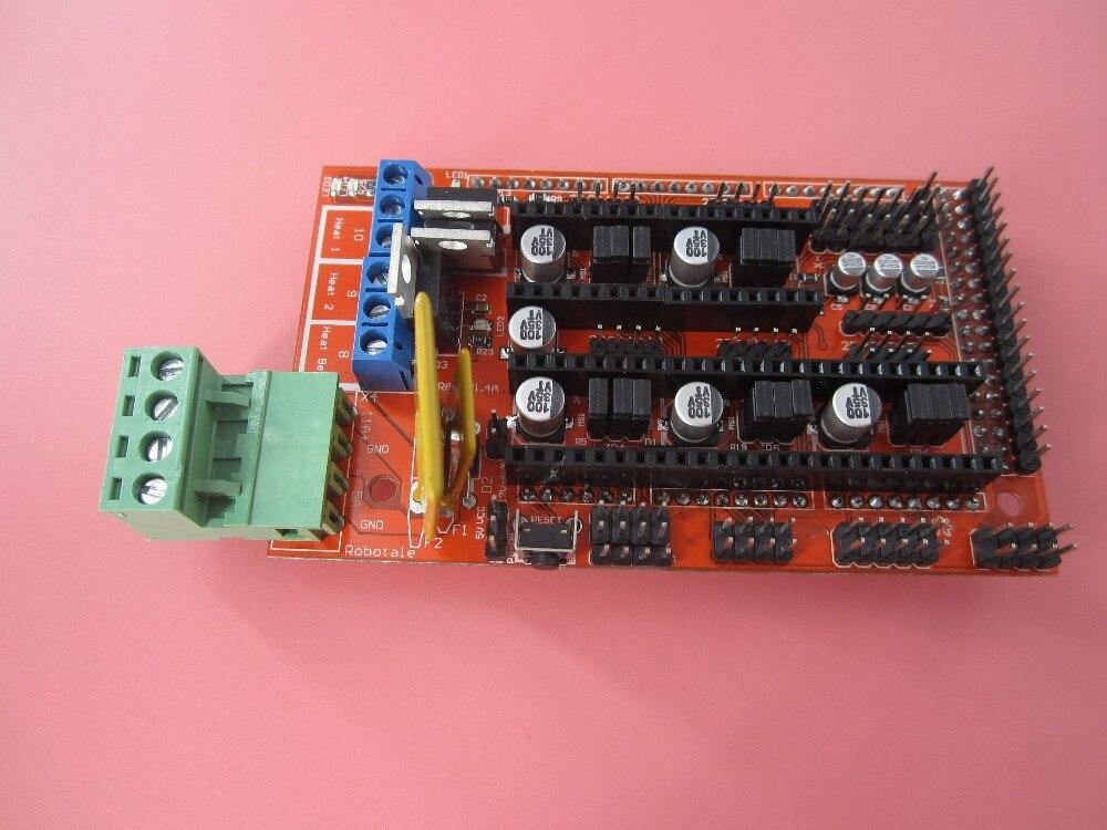 new 1pcs RAMPS 1 4 3D printer control panel printer Control Reprap MendelPrusa In stock