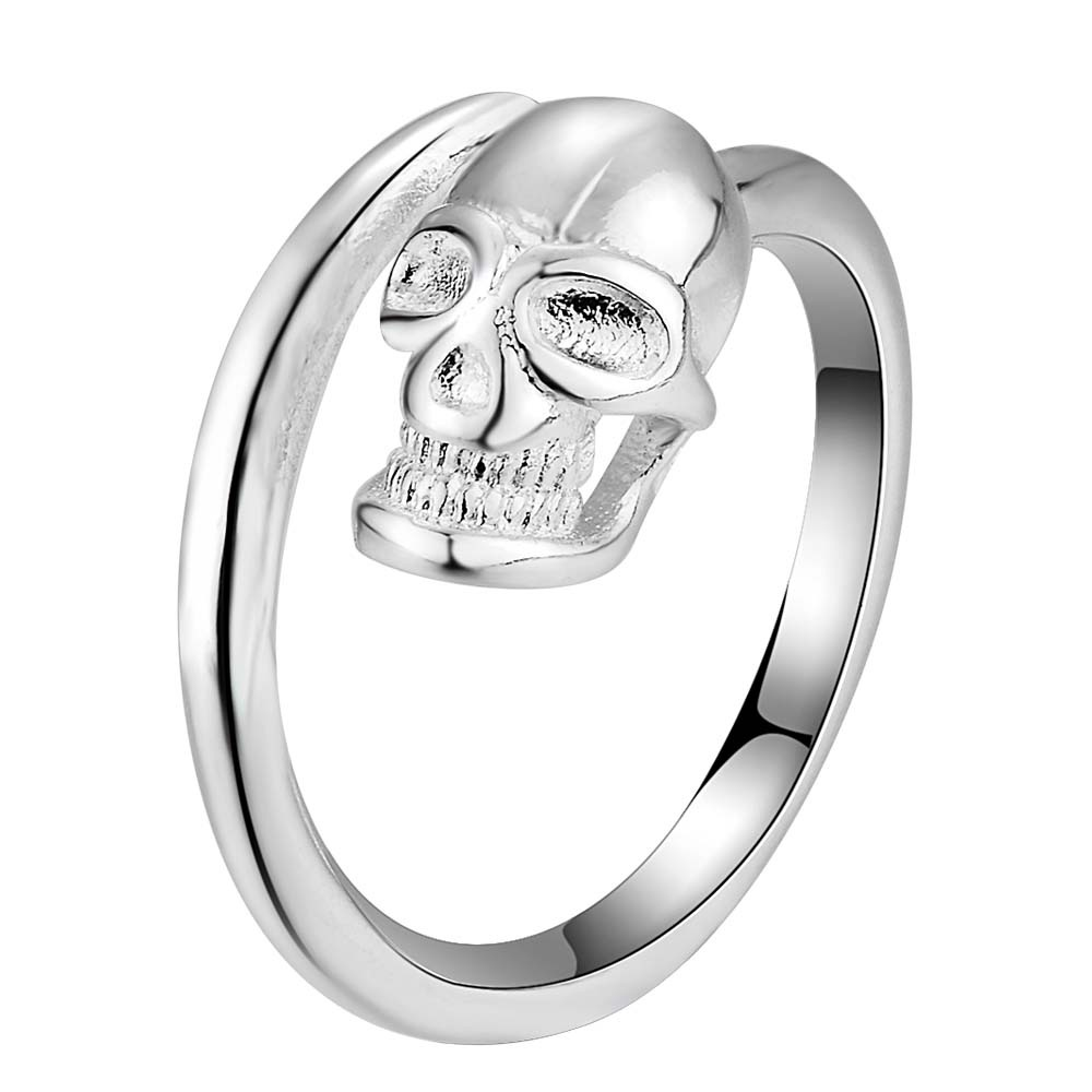 Silver plated Ring Fashion Jewerly Ring Women&Men , /HHUUUOKL RIRNJYDP