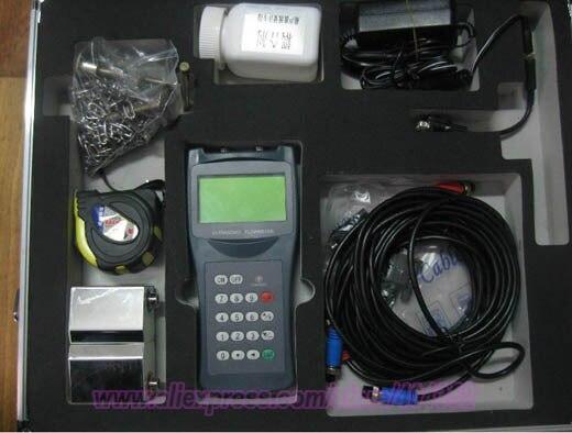 font b Digital b font Ultrasonic Flow Meter Flowmeter DN50 700mm Portable TDS 100H