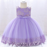 New Birthday Baby Dress First Year Girl Christening Gowns Infant Girl Baptism Dresses First Year Tutu Kids Vestido Clothes