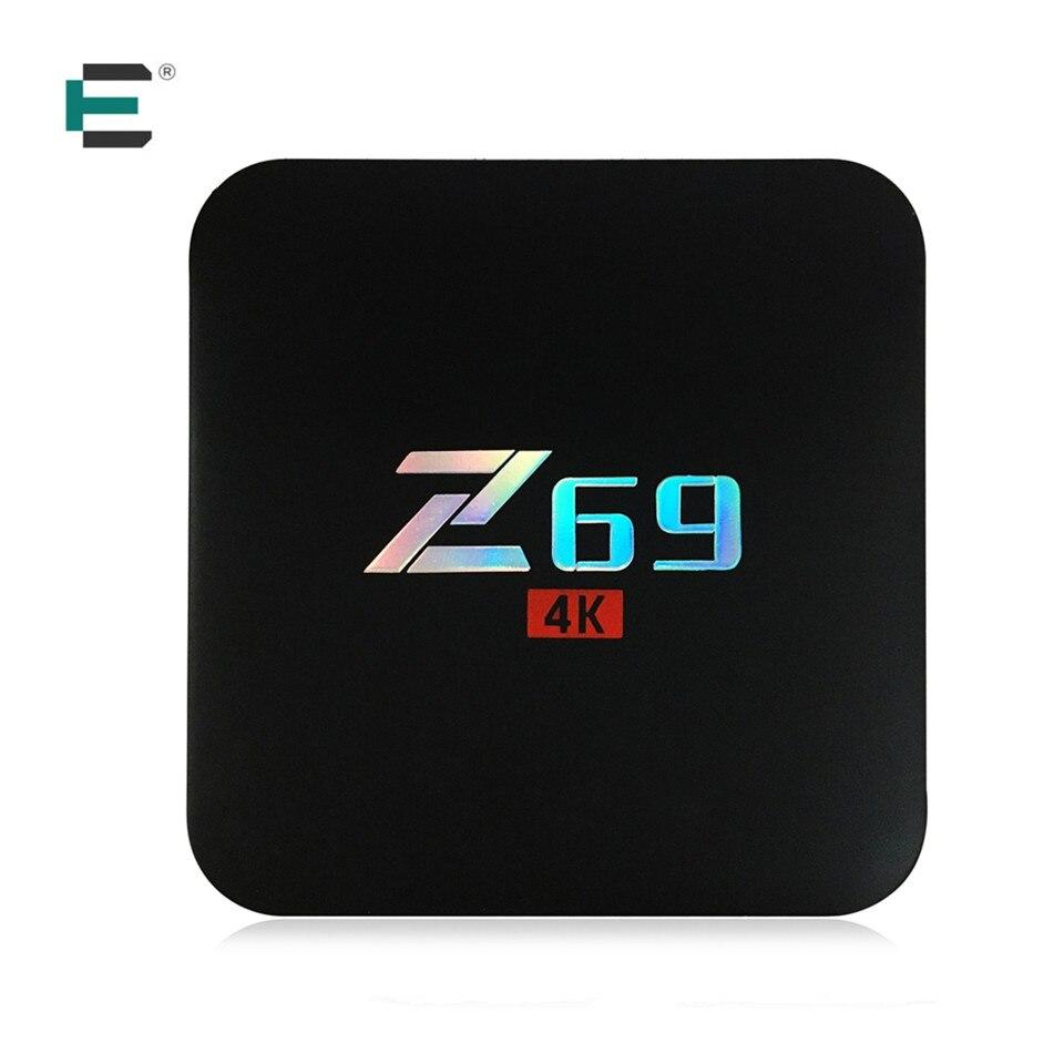 Z69 Android 7 1 4K Ultra HD TV Box Amlogic S905X Quad Core 3GB RAM 32GB
