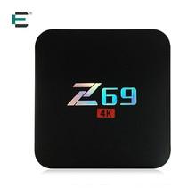 Z69 S905X Android 7.1 4 K Ultra HD TV Box Amlogic Quad Core 3 GB RAM 32 GB ROM WiFi Bluetooth 4.0 Media Player Airplay Set Top caja