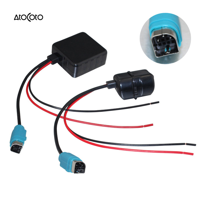 Yixinyou Bluetooth Module Wireless Microphone Wire Harness: Car Bluetooth Wireless Module For Alpine Radio Stereo Aux