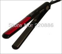 LCD Display Titanium Plates Flat Iron Professional Hair Straightener GIC HS103 Free Shipping