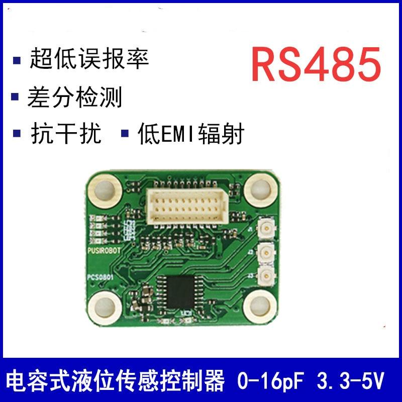 Small Capacitive Liquid Level Sensor Module Contact Non-contact Differential Detection PF Level PCS0801 massin verbes de contact 2ed
