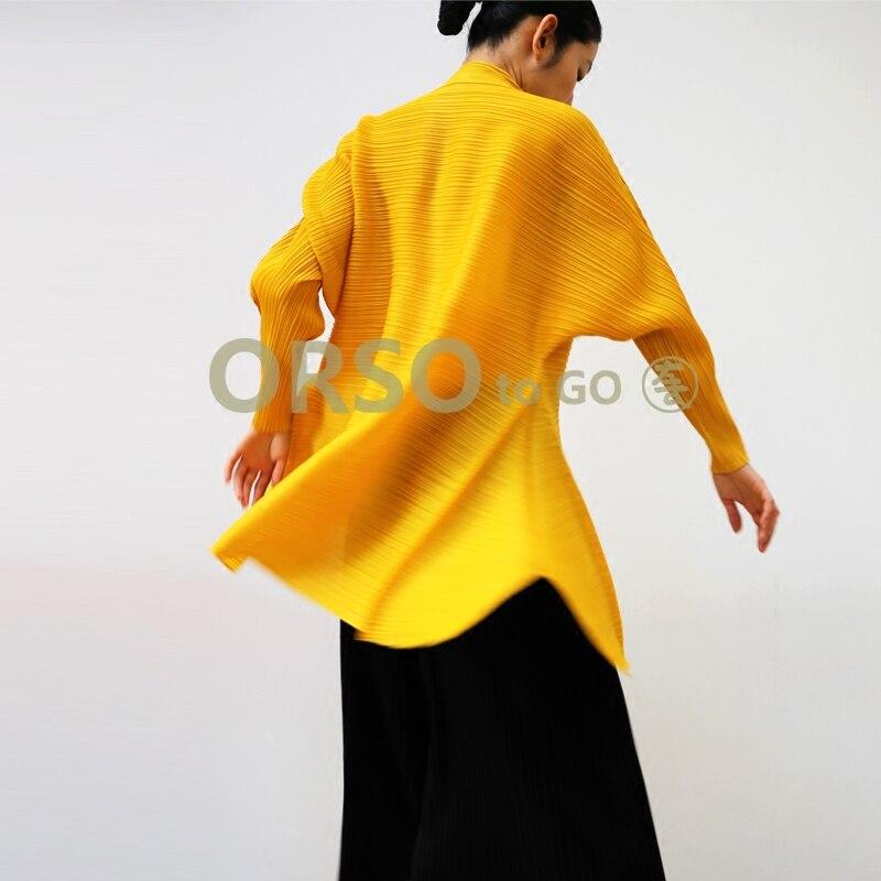 Azterumi Spezielle Falten Langarm Blusen Shirt Frühjahr Neue 2019 Frauen Casual Lose Gefaltete Tops Schwarz Blau Grau Gelb Rot-in Blusen & Hemden aus Damenbekleidung bei  Gruppe 3