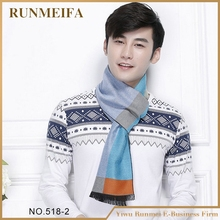 RUNMEIFA Men Winter Blanket Tartan Scarf Plaid Checked Neck Warm Tartan Grid men scarves free