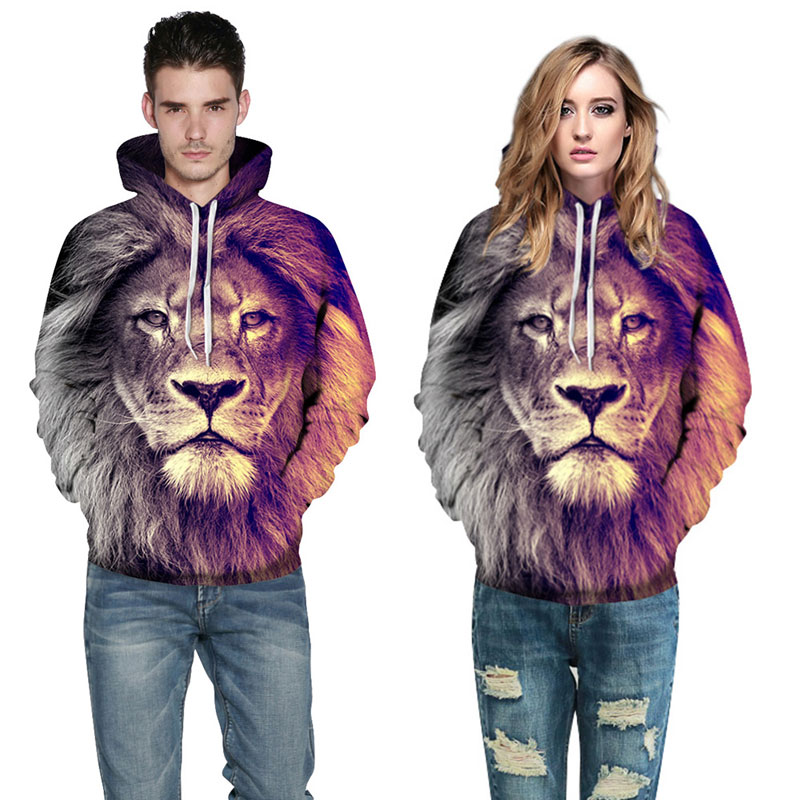 Mr.1991INC New Fashion Animal Style Sweatshirts Men/Women Pullovers Print Lion Hoodies Hooded Tracksuits Autumn Thin Tops Men/Women Pullovers Print Lion Hoodies HTB1LItRSpXXXXXcXVXXq6xXFXXXL
