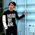 Hood By Air HBA Long Sleeve t-shirt Men Top Quality Cotton Hip Hop T Shirt Men Brand tshirt Homme Designer Tee shirts Swag Shirt