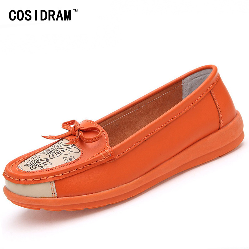 New 2015 cowhide women flats bowknot genuine leather flat shoes woman fashion moccasins breathable female casual Shoes BSN-141 factory direct sale women cloth shoes new designer shoes bowknot casual shoes work flats