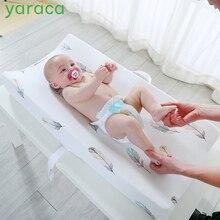 Yaraca пеленки Пеленальный Коврик для новорожденных мягкий дышащий хлопок простыня для стандартного пеленального стола подушки люлька лист