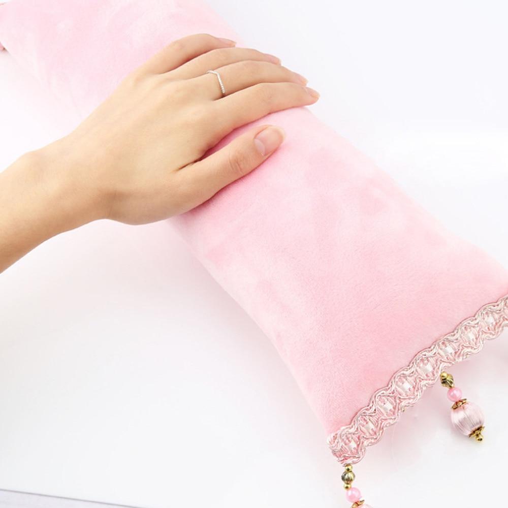 Intellektuell Neue 1 Pc Retro Quaste Hand Kissen Rest Kissen Weiche Spalte Design Maniküre Pflege Salon Nail Art No22 Diversifizierte Neueste Designs Handauflagen