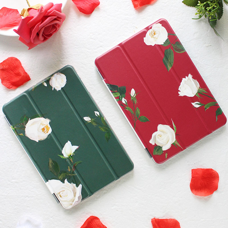 Case for Ipad Pro 10.5'' Rose Series Auto Sleep /Wake Up Flip PU Leather Case for Ipad Pro 10.5'' Smart Stand Cover flip left and right stand pu leather case cover for blu vivo air