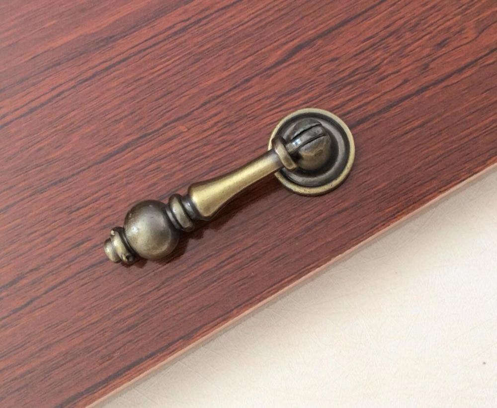 La commode en Bronze de traction de tiroir Unique manipule des gouttes de placard/armoire de campagne manipule le matériel de cuisine