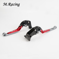 Motorcycle CNC Adjuster Folding Extendable Brake Clutch Levers For S1000RR 2009 2018