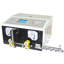 Free shipping to china address 220 V Automatic Wire Striping Cutting Machine 0.1 - 4.5 mm2 Computer Controlled SWT508-SD