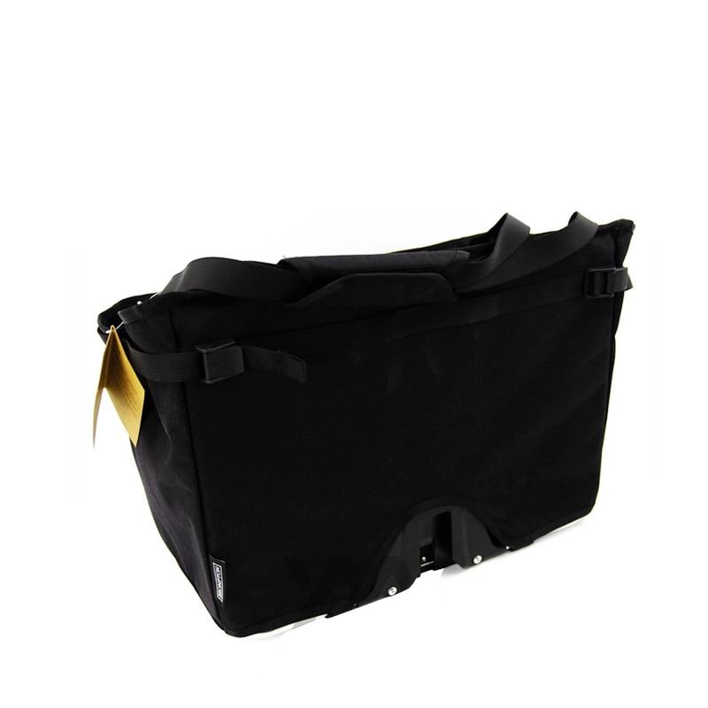 Sacs de vélo de vélo résistant à l'eau 16L sacoches pour Brompton sac de panier grande capacité accessoires de vélo de vélo réfléchissants - 4