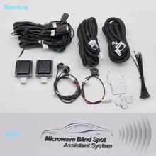 Microwave Blind Spot Assistant System BSD Car Side Assist System Blind Spot Radar Sensors Universal For Any Vehicle Car SUV