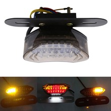 12V 20LED Motorcycle Bike Rear Tail Stop Red Light font b Lamp b font taillight rear
