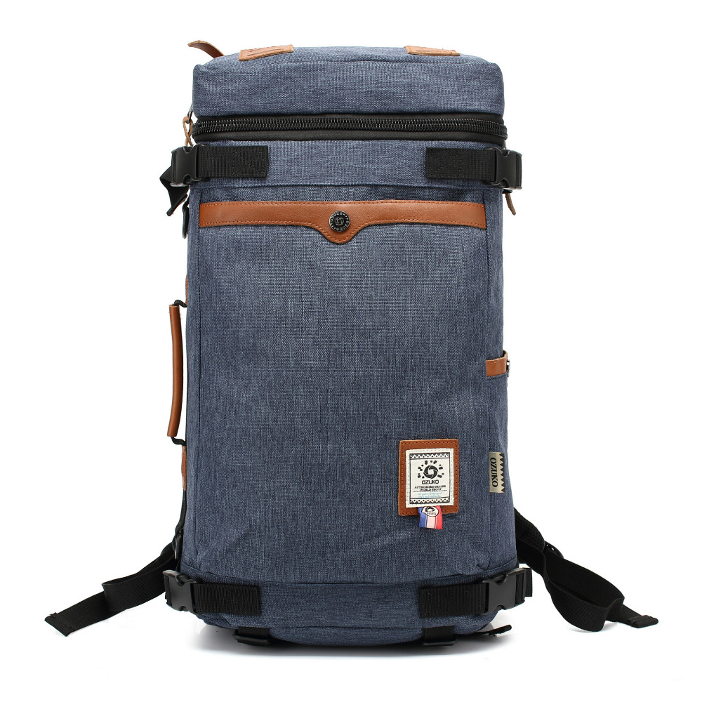 YISHEN Unisex Rucksack Canvas Backpack Leisure Travel School Bag Multifunctional Women Men Travel Backpack Super Big Bag JY8673S