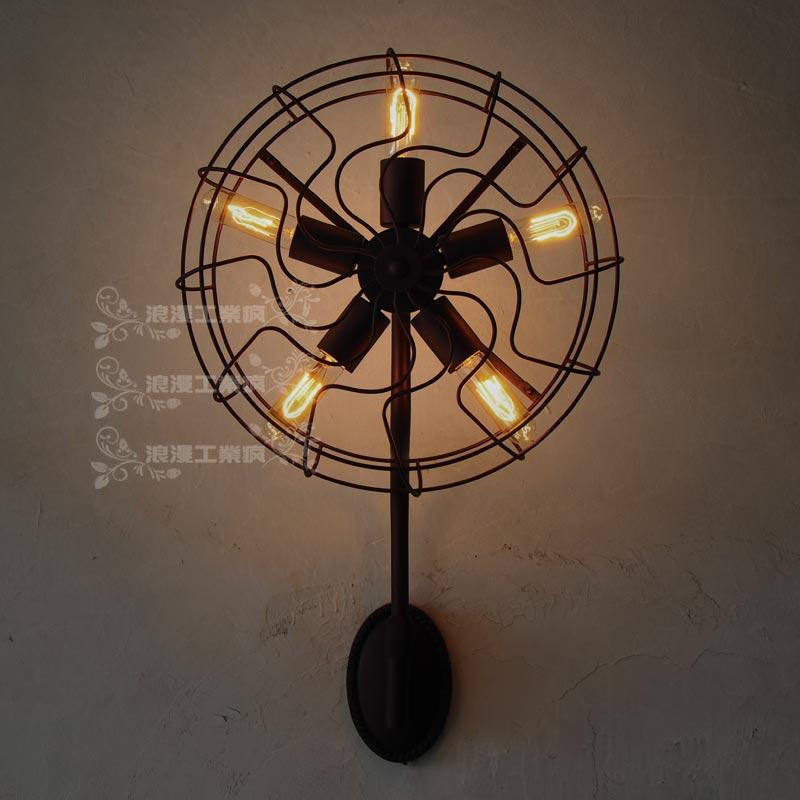 Rh loft american vintage fan wall lamp 4121200 k06n c1 great wall h3 fr combination lamp assy rh
