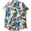 Blusas Femininas 2017 New Design Floral Casual Style Flower Print Blouses Women Female Summer Short Sleeve