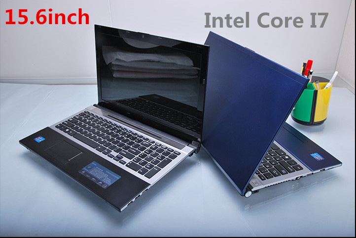 15.6 In-tel Core I7 8GB & 1TB HDD game laptop SSD slot camera WIFI Windows 8 game notebook computer