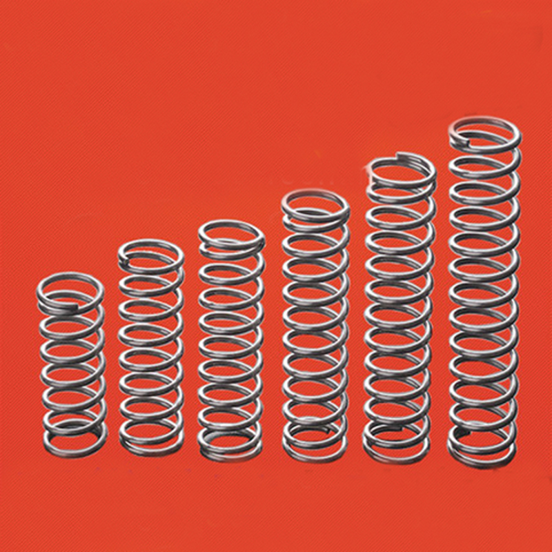 2mm WD 30mm OD Stainless Steel Compression Spring Compressed Pressure Springs
