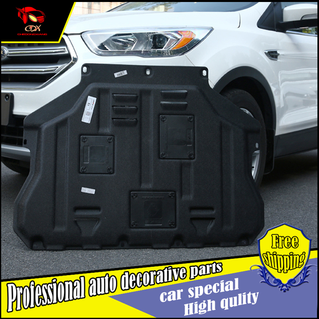 Car styling For Ford Kuga Escape Plastic Engine Guard 2013-2017 For Kuga Engine Skid & Car styling For Ford Kuga Escape Plastic Engine Guard 2013 2017 For ...