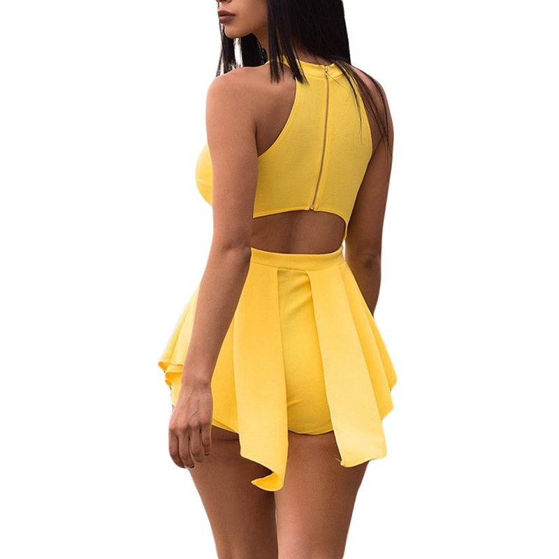 HTB1LIxZLpzqK1RjSZSgq6ApAVXas - Women Elegant Jumpsuits & Rompers Halter Irregular Sleeveless Slim Bodycon Overalls Cocktail Club Party Bodysuit