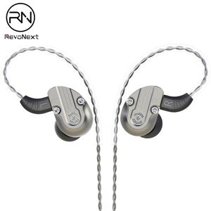 Image 1 - RevoNext NEX202 in Ear Monitor,Dual Driver Headphones 1DD+1BA Aluminum Alloy housing HiFi Earbuds, Upgraded Detachable Cables