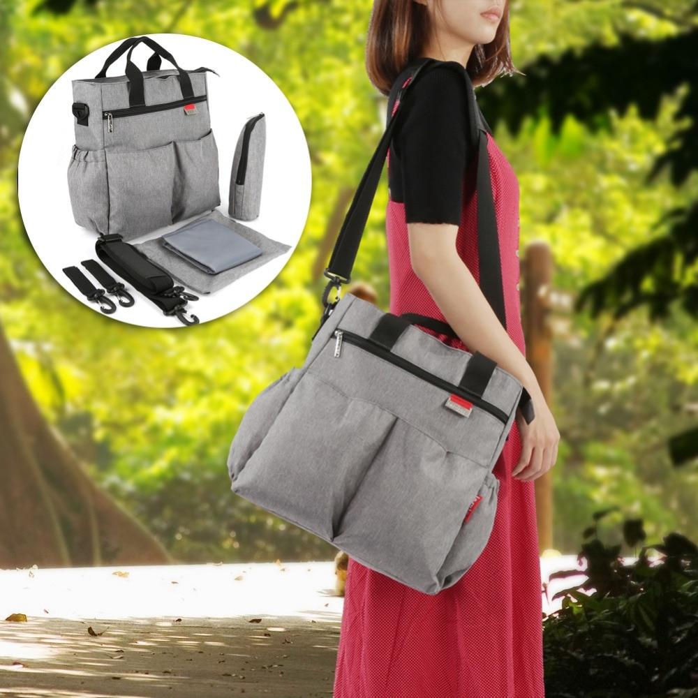 Insular Mummy Diaper Bag Large Nursing Bag Travel Backpack Designer Stroller Baby Bag Baby Care Nappy Backpack bolsa maternidade
