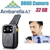 Original Full HD 1080P Multi functional Body Worn Police IR Night Vision 32GB Police Camera Police Body Camera