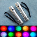 The new patent LED full color 10 color flashlight 530