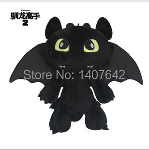 30cm Toothless, Night Fury How to Train Your Dragon 2,Gift for Kids, Free Shipping, Doll Toy Pillow free shipping synthetic blonde ponytail how to train your dragon 2 heroine astrid cosplay wig