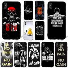 Ultra Thin Gym Fitness Phone Cover for iPhone 6 Plu