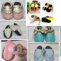 New Genuine Leather Toddler baby moccasins tassel bow baby shoes First Walkers Anti-slip Infant newborn Shoes free shipping