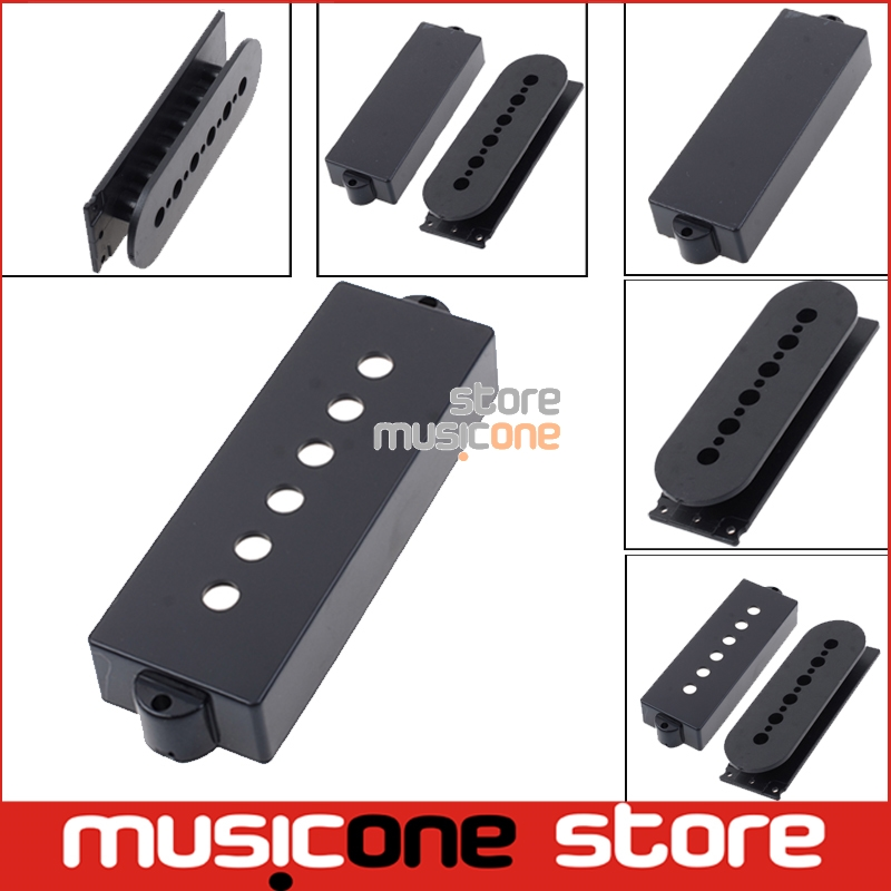 Smooth And matt Black Open/closed Type <font><b>5</b></font> <font><b>String</b></font> PB <font><b>Bass</b></font> <font><b>Guitar</b></font> <font><b>Pickup</b></font> Cover <font><b>Guitar</b></font> <font><b>Pickup</b></font> Bobbin For <font><b>Pickup</b></font> Makers image