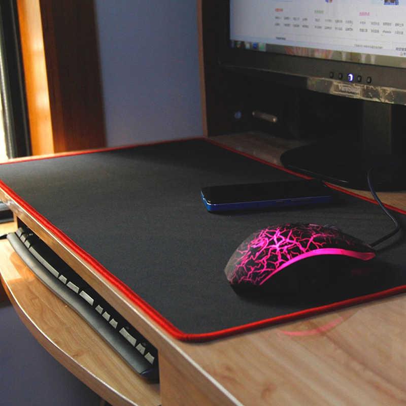 60x30cm jednokolorowa duża podkładka pod mysz do gier Gamer zabezpieczona krawędź podkładka pod mysz do klawiatury podkładka pod mysz do gier Grande do gier